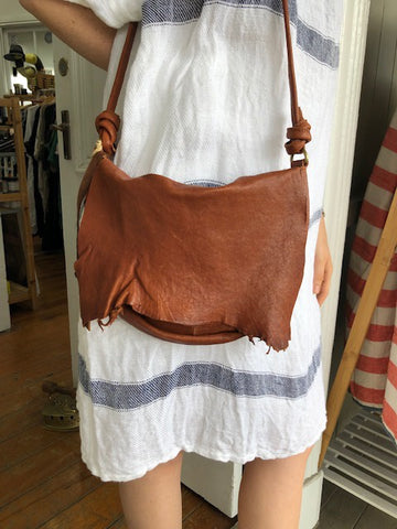 Boheme Rust Leather Bag