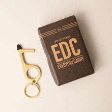 Load image into Gallery viewer, Brass EDC - No touch tool-Accessories-Izola-Bristle by Melissa Simmonds