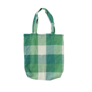 Apple Check Tote-Bags-Society of Wanderers-Bristle by Melissa Simmonds