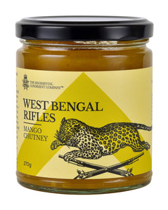 West Bengal Rifles Mango Chutney 270g-The Regimental Condiment Company-Bristle by Melissa Simmonds