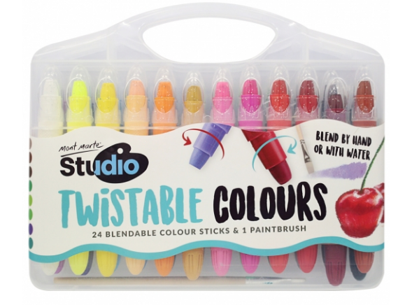 Studio Twistable Colours 25pc