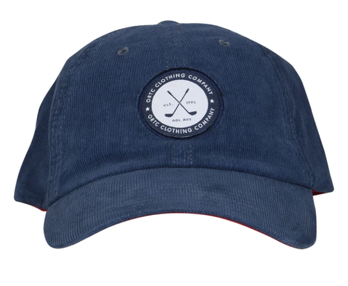 Ortc Man Corduroy Cap - Navy-Ortc Man-Bristle by Melissa Simmonds