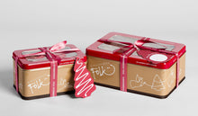Load image into Gallery viewer, G Folk Cookie Tin Christmas Miniatures 200g-Folk-Bristle by Melissa Simmonds