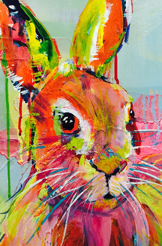 Little Hare-Melissa Simmonds-Bristle by Melissa Simmonds