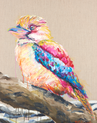 Kookaburra-Melissa Simmonds-Bristle by Melissa Simmonds