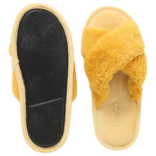 Load image into Gallery viewer, SUNSHINE YELLOW ADULT SLIPPERS