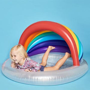 Kids Pool Rainbow-Outliving-Bristle by Melissa Simmonds