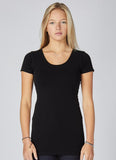 Bamboo Scoop Neck T-Shirt