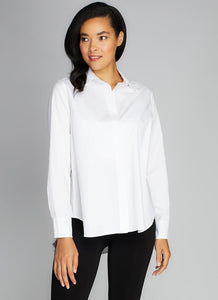 Poplin Blouse Button Down
