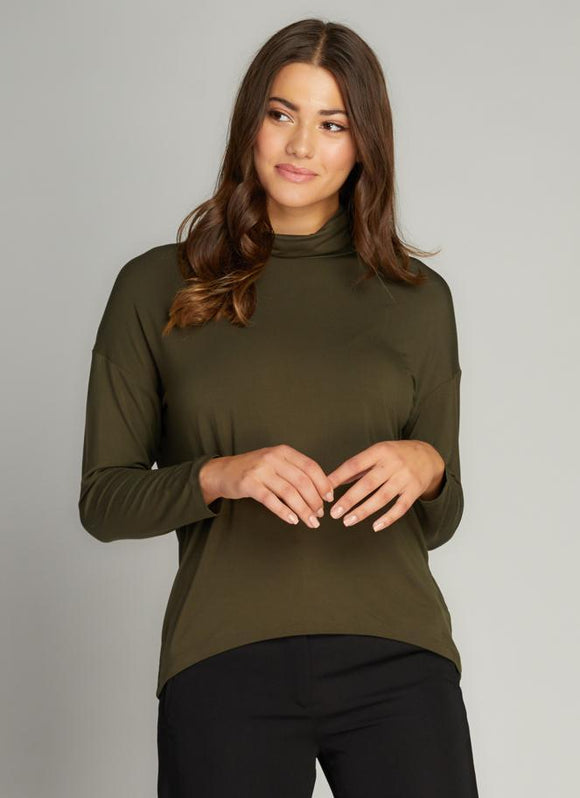 Bamboo Loose Fit Turtleneck