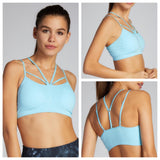 Aloe Sports Bra Strappy