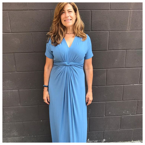 Blue Skies Maxi Dress