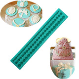 Pearls Strip Fondant  Molds for Cake Decorating