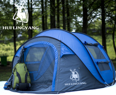 Automatic Pop Up & Waterproof Camping Tent