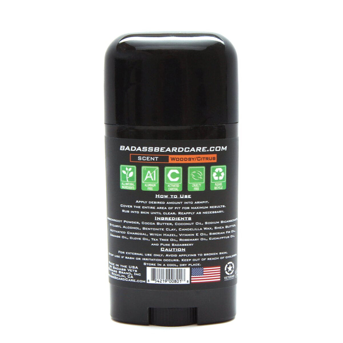 The Biker Badass Deodorant Stick