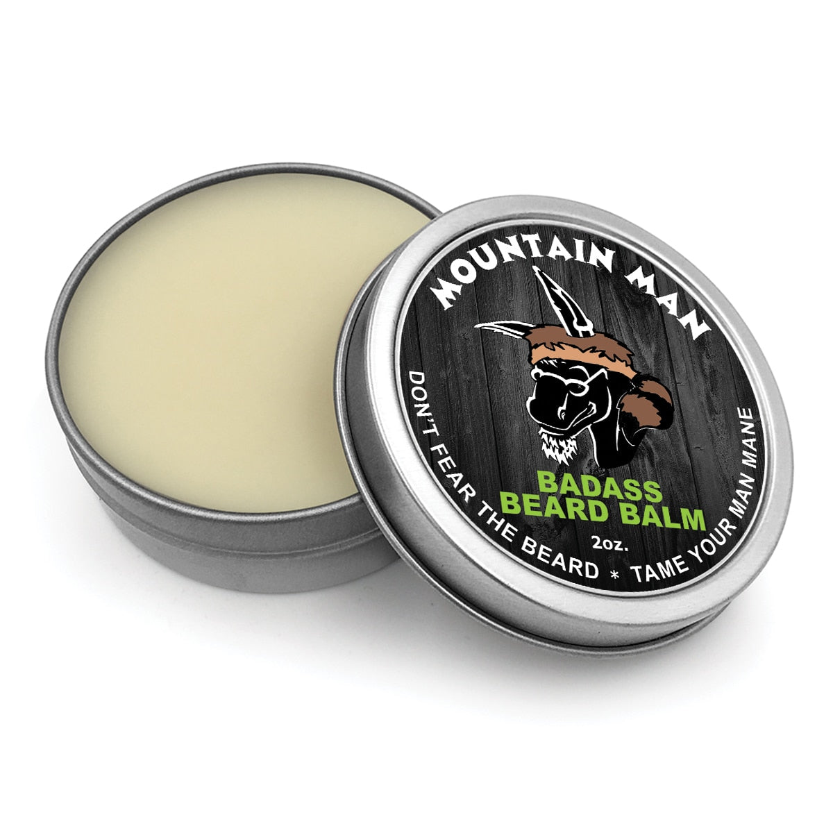 The Mountain Man Badass Beard Balm