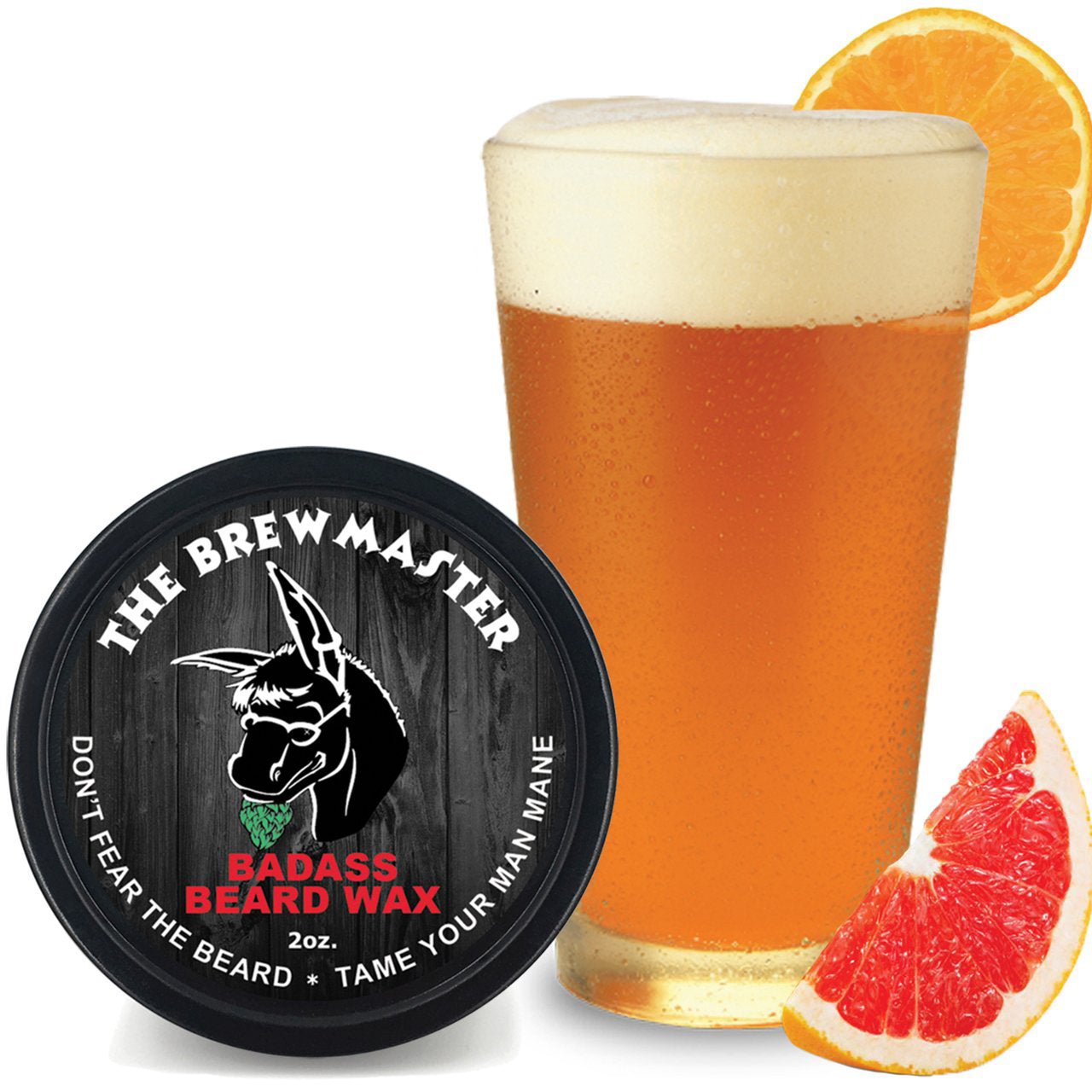 Badass Beard Wax - The Brewmaster