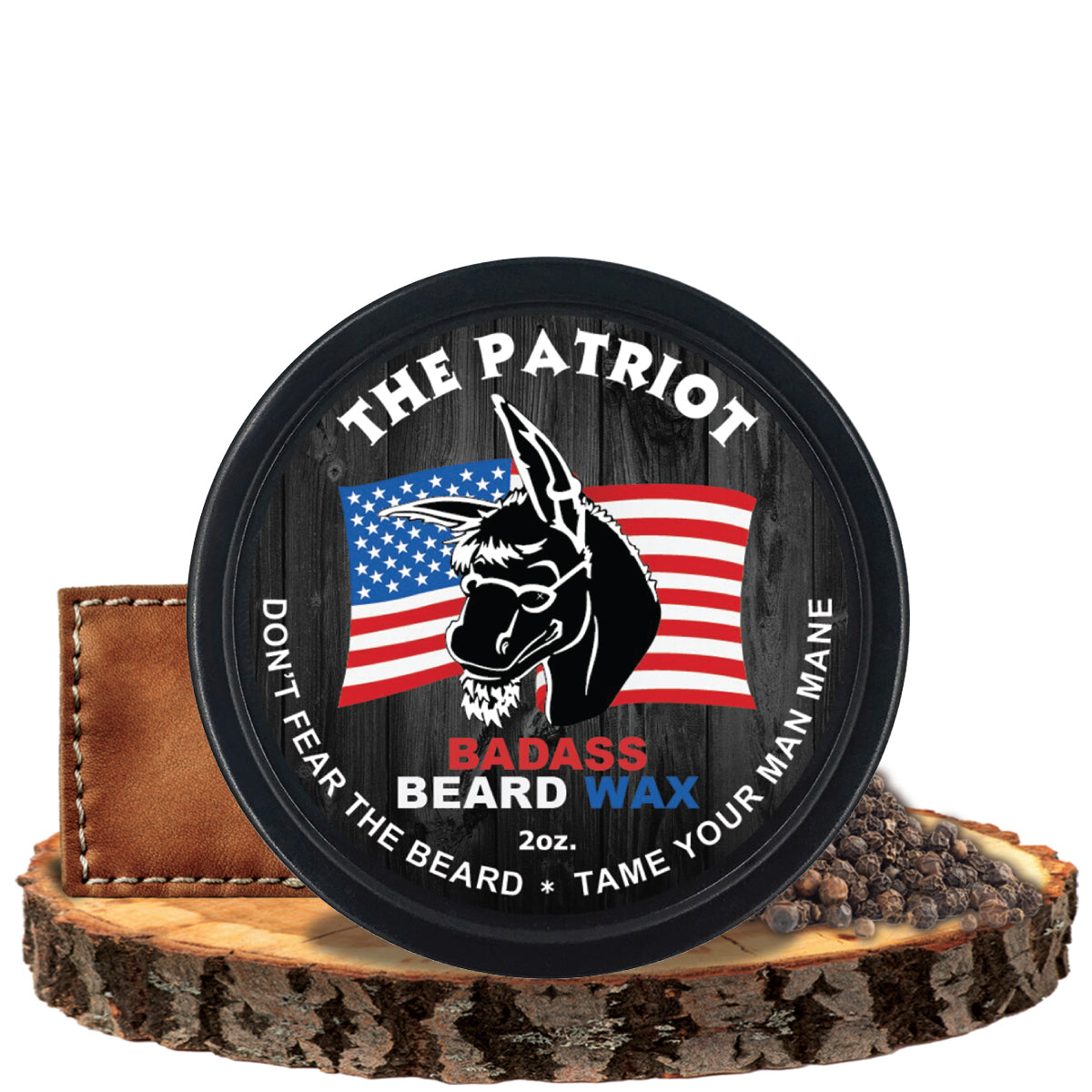 Badass Beard Wax - The Patriot