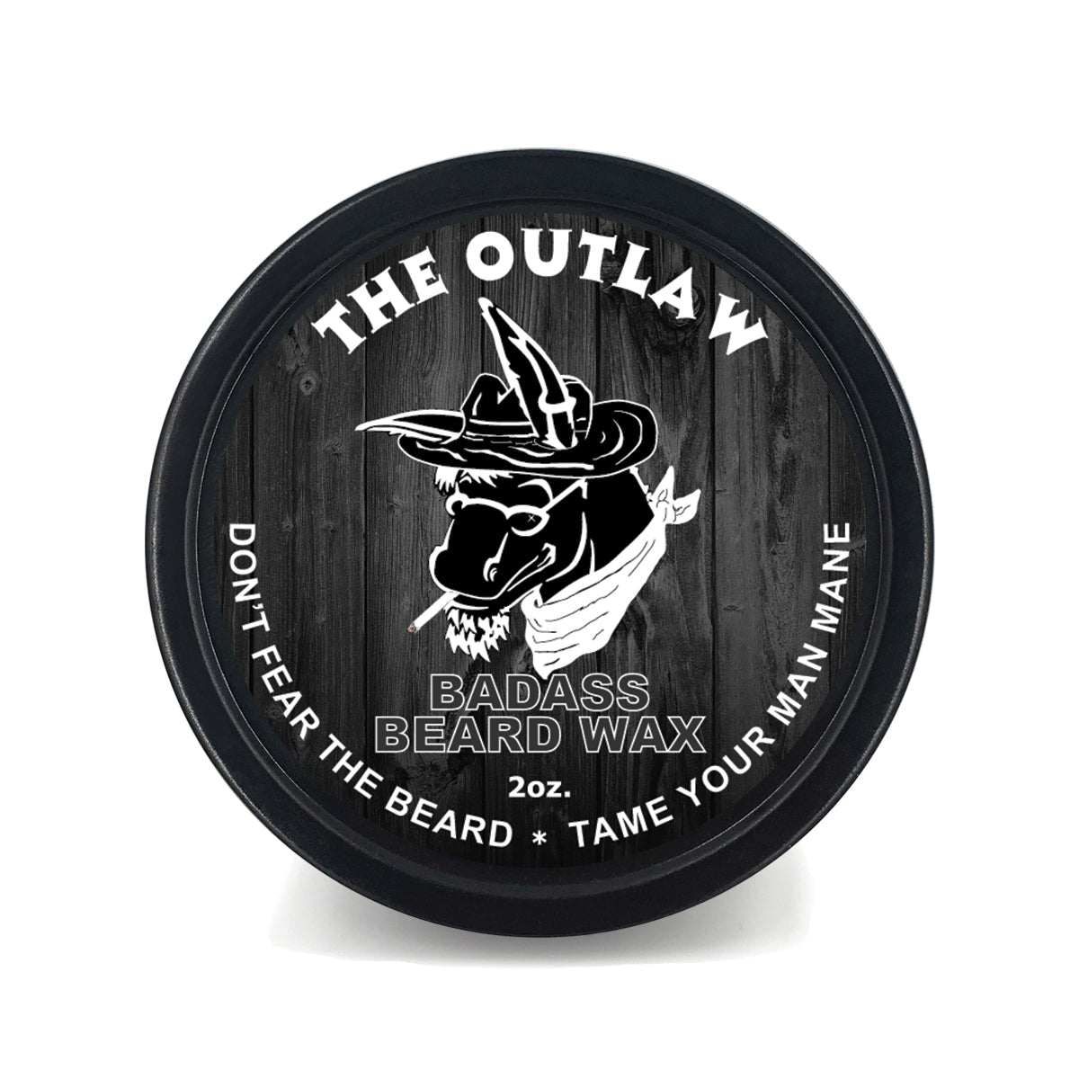 Badass Beard Wax - The Outlaw
