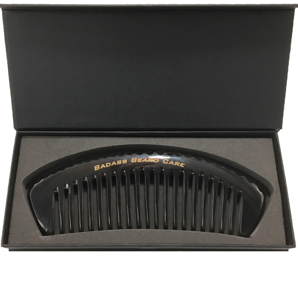 Black Series - Wide Tooth Ox Horn Comb