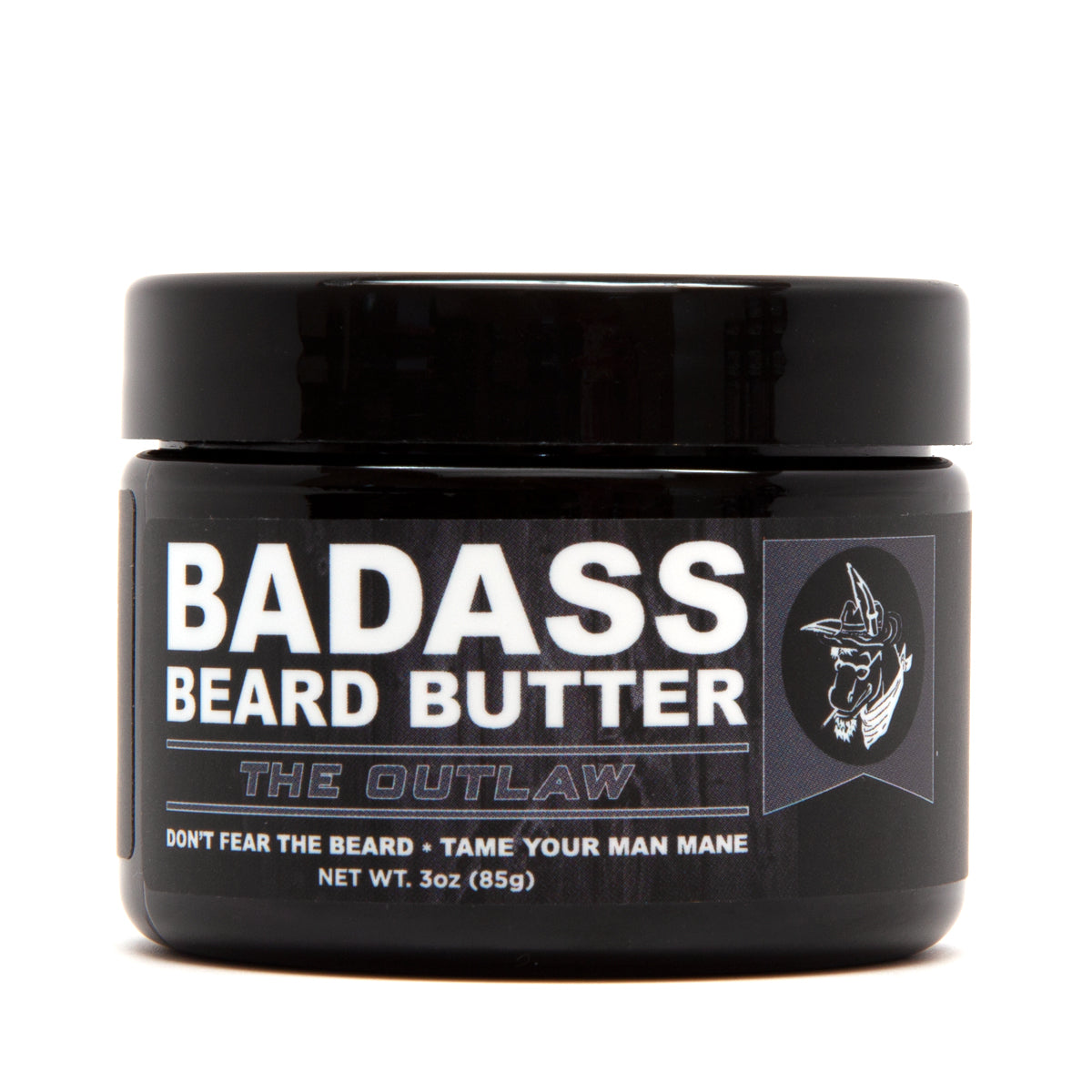 beard butter, badass beard care, the outlaw
