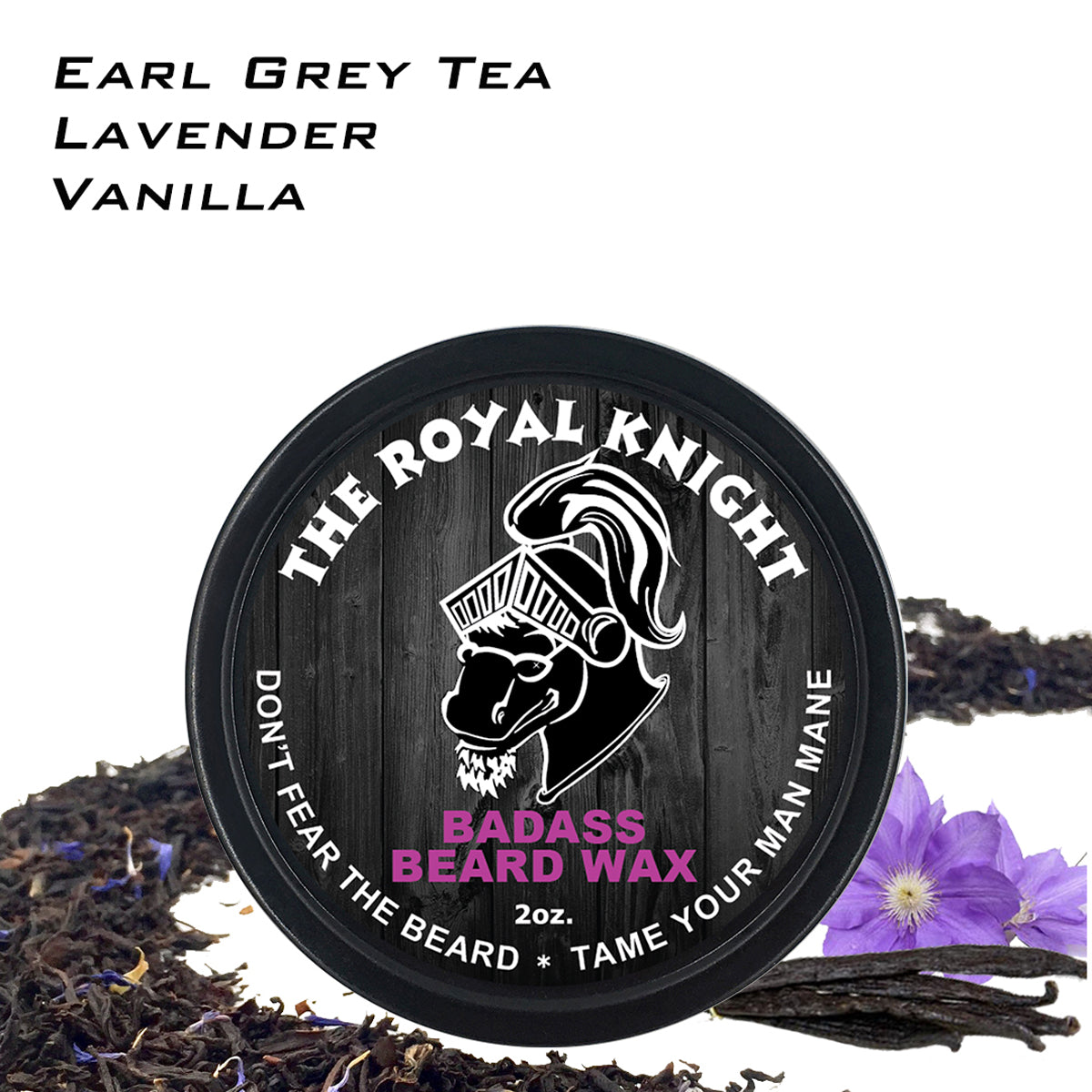 beard wax, badass beard care, the royal knight