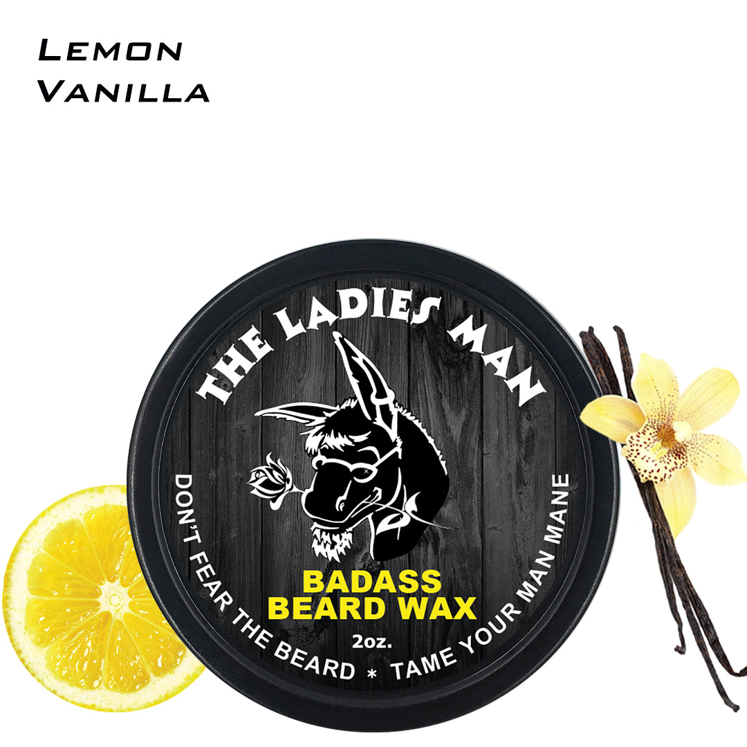 beard wax, badass beard care, the ladies man