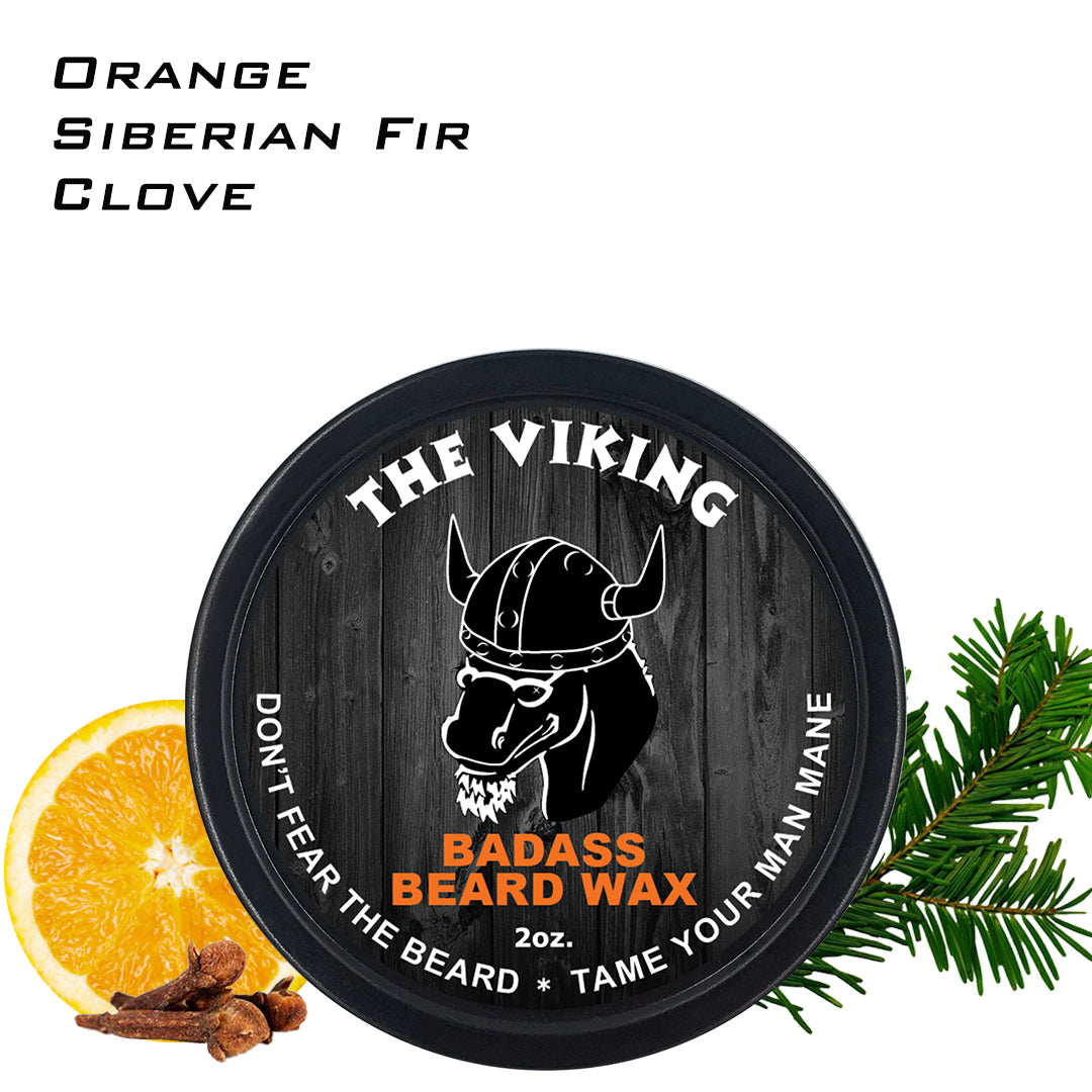 beard wax, badass beard care, the viking