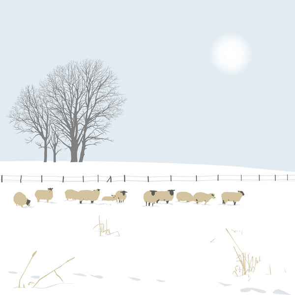 The Sheep - Blue - Large