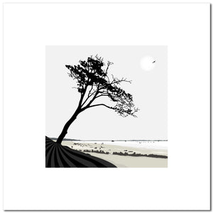 The Beach Tree - Grey - Large