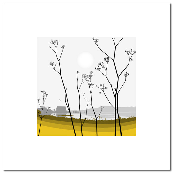 Cow Parsley - Ochre - Large