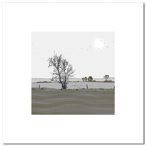 Solo Tree - Grey - Large