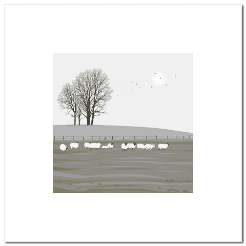 Sheep - Grey - Large