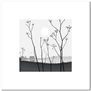 Cow Parsley - Grey - Large