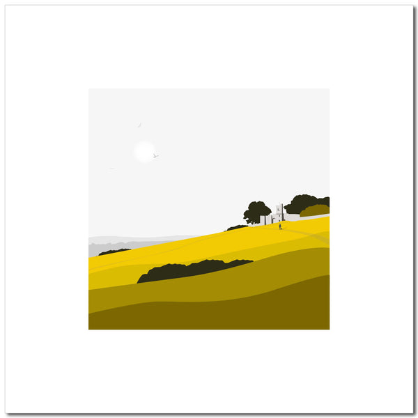 Rodborough Fort - Ochre - Large