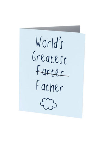 WORLDS GREATEST FARTER | Father's Day Card