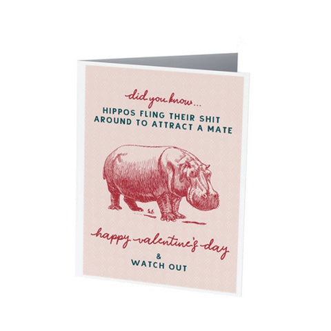 HIPPOS! | Funny Valentine's Day card