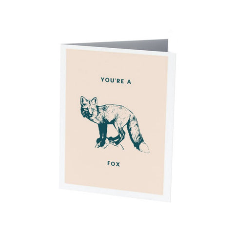 YOU'RE A FOX | Funny Valentine's Day card