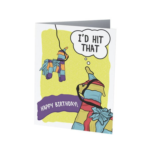 I'D HIT THAT |  Funny Birthday Card