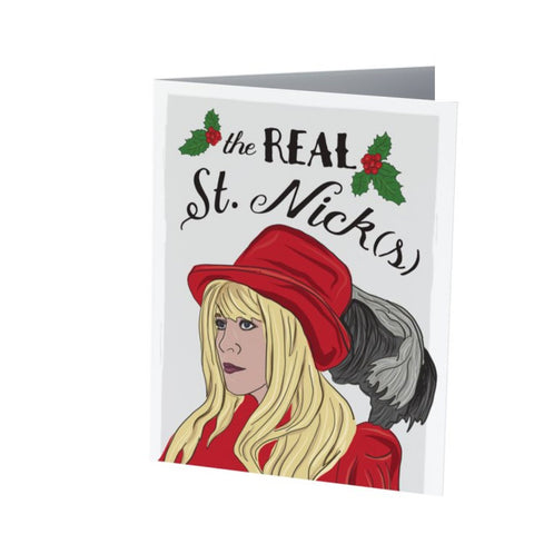 STEVIE NIKS CHRISTMAS card |  Holiday Card  |  Funny Christmas Card  |