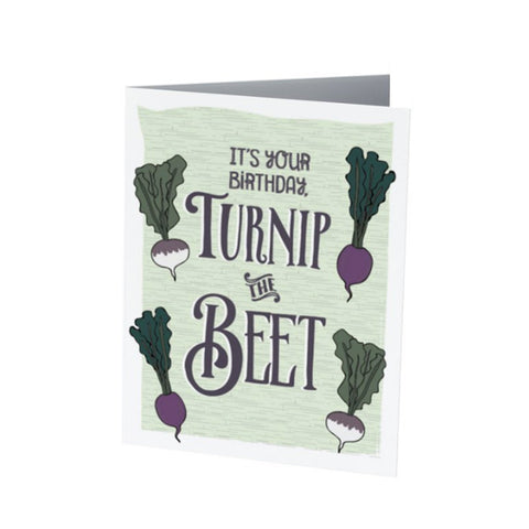 TURNIP the BEET BIRTHDAY |  Funny Birthday Card