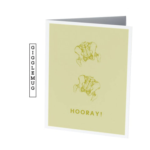HIP HIP HOORAY! |  Celebration Card