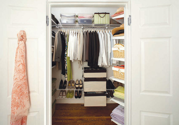 wardrobe from outside closet