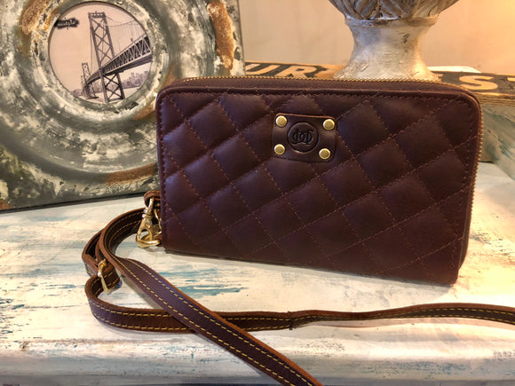 New! Cross-Over Wallet - MARCH MADNESS SALE - $50 OFF! Reg. $139 Now $89!