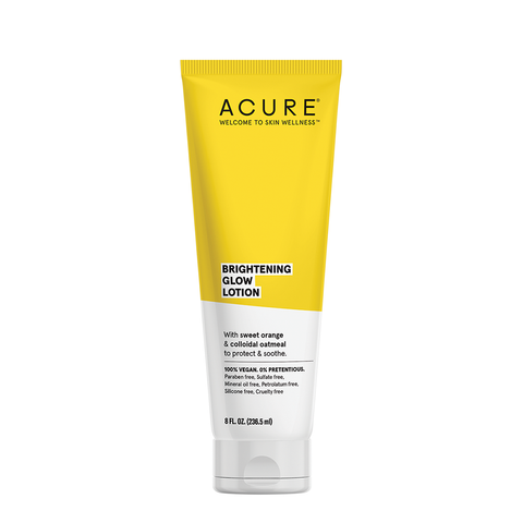 Acure Brightening Glow Lotion - 236ml