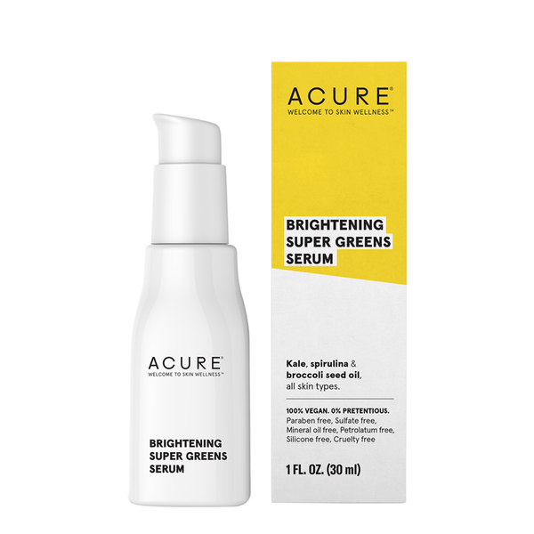 Acure Brightening Super Greens Serum - 30ml