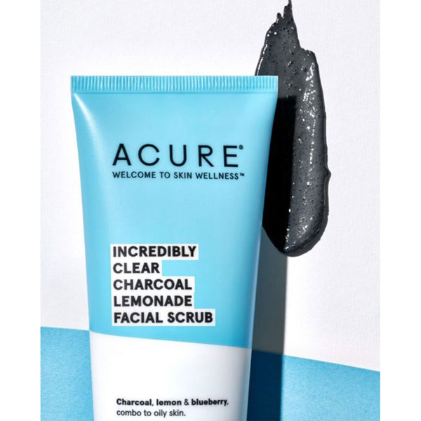 Acure - Incredibly Clear Charcoal Lemonade Facial Scrub 118ml