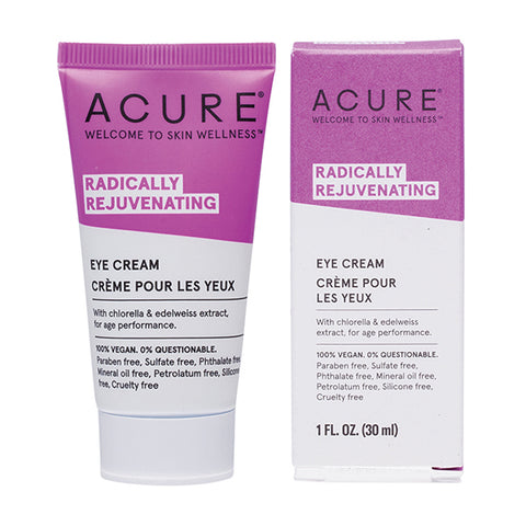 Acure Radically Rejuvenating Eye Cream - 30ml