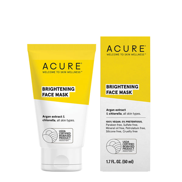 Acure Brightening Face Mask - 50ml