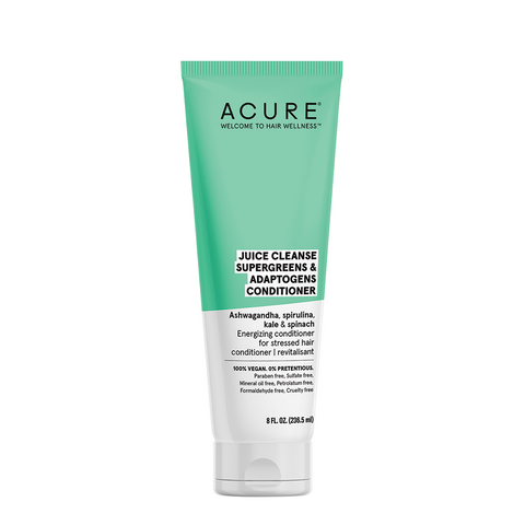 Acure Juice Cleanse Supergreens & Adaptogens Conditioner - 236ml
